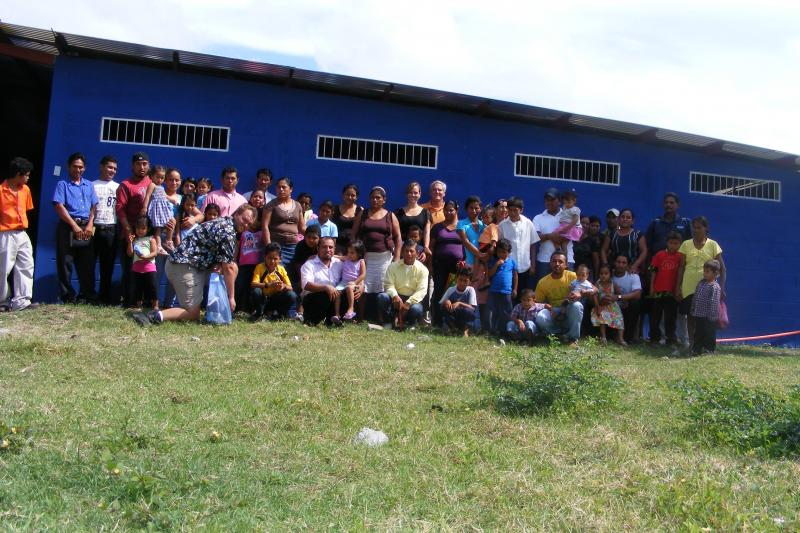 The Shelter houses 24 children, one mom and a grandmother!