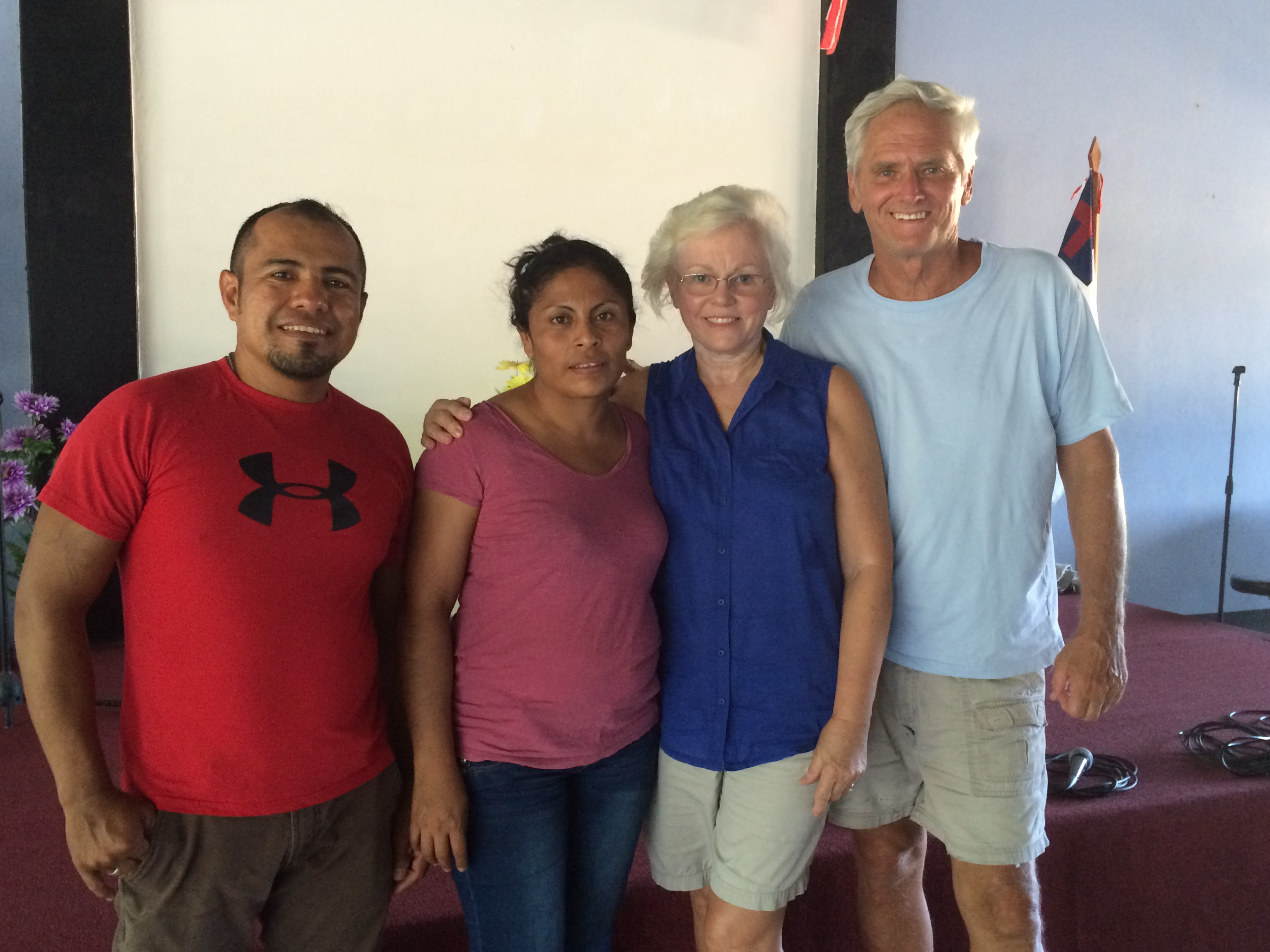 Directors Walter and Zayda with Founders Joe and Sandy